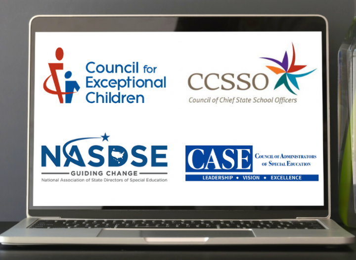 CEC, CCSSO, NASDSE, and CASE logos